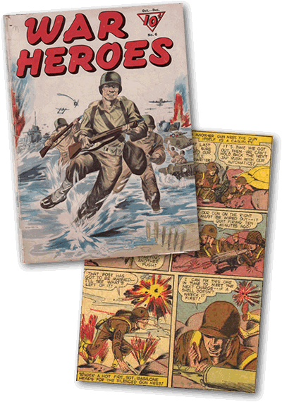 Basilone Comic Book