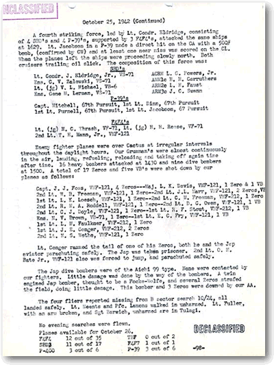 Cactus Air Force Document