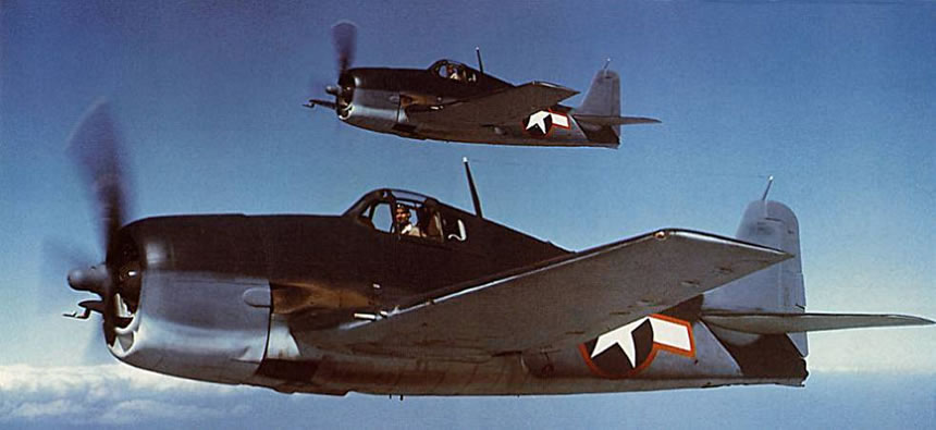 F6F in flight.