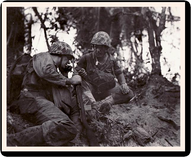 Shofner H+3 hour D-Day Peleliu.