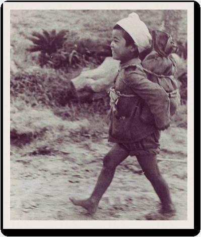 Okinawan civilian POW.