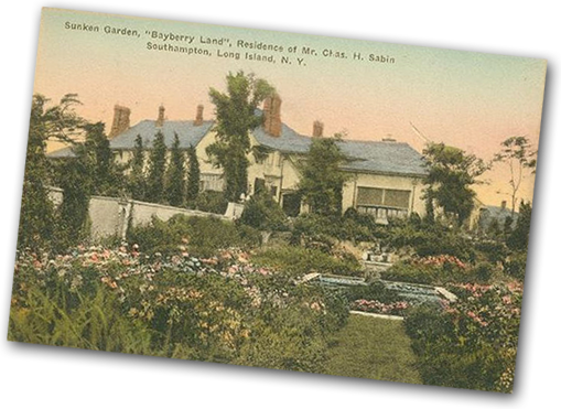 Bayberry Land postcard from Rogers Memorial Library
