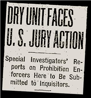Dry Unit Faces U.S. Jury Action