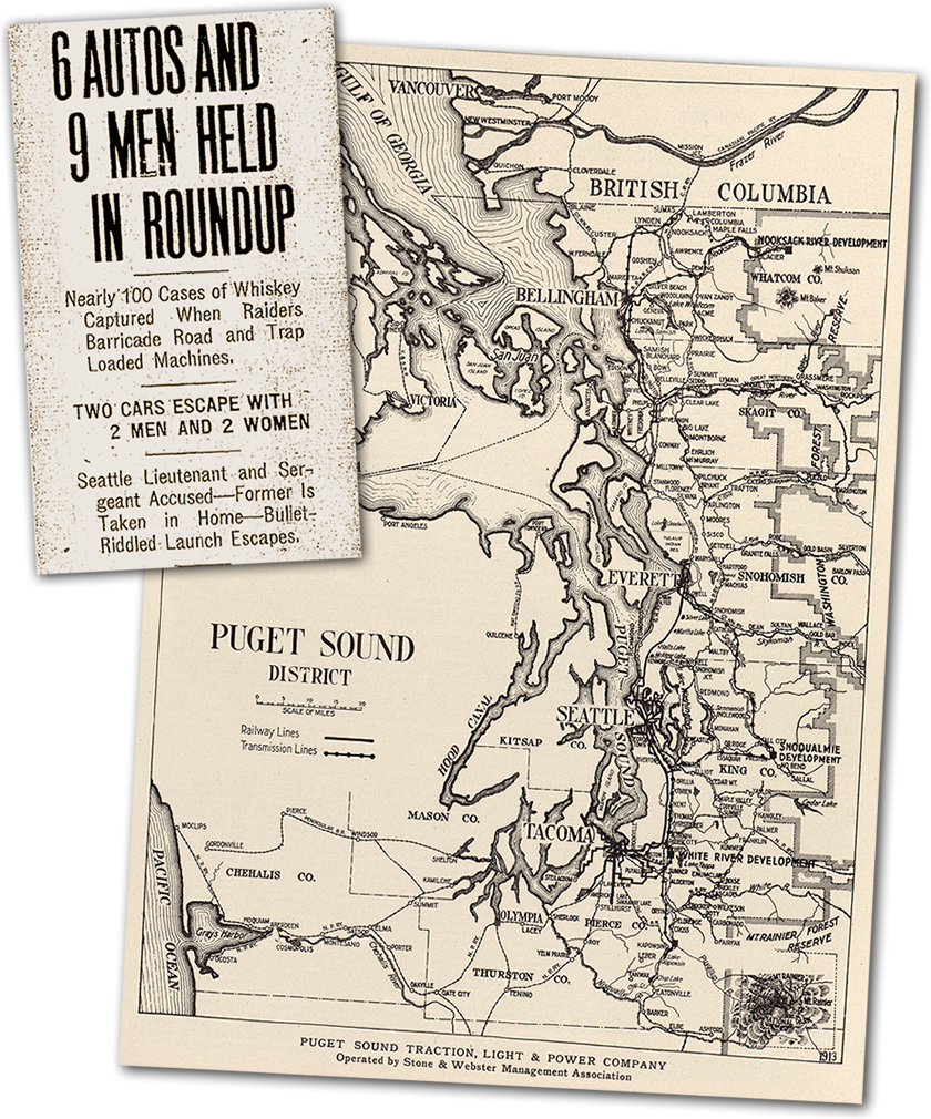 Olmstead Article and 1913 Puget Sound Map