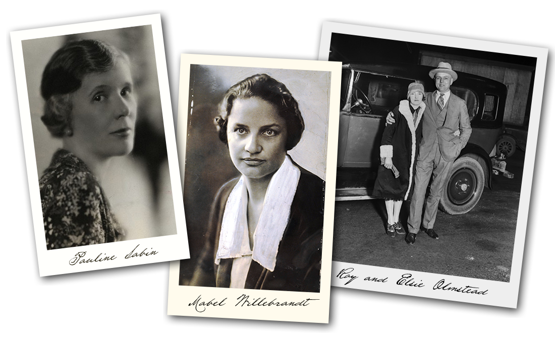 Pauline Sabin, Mabel Willebrandt and  Roy and Elsie Olmstead