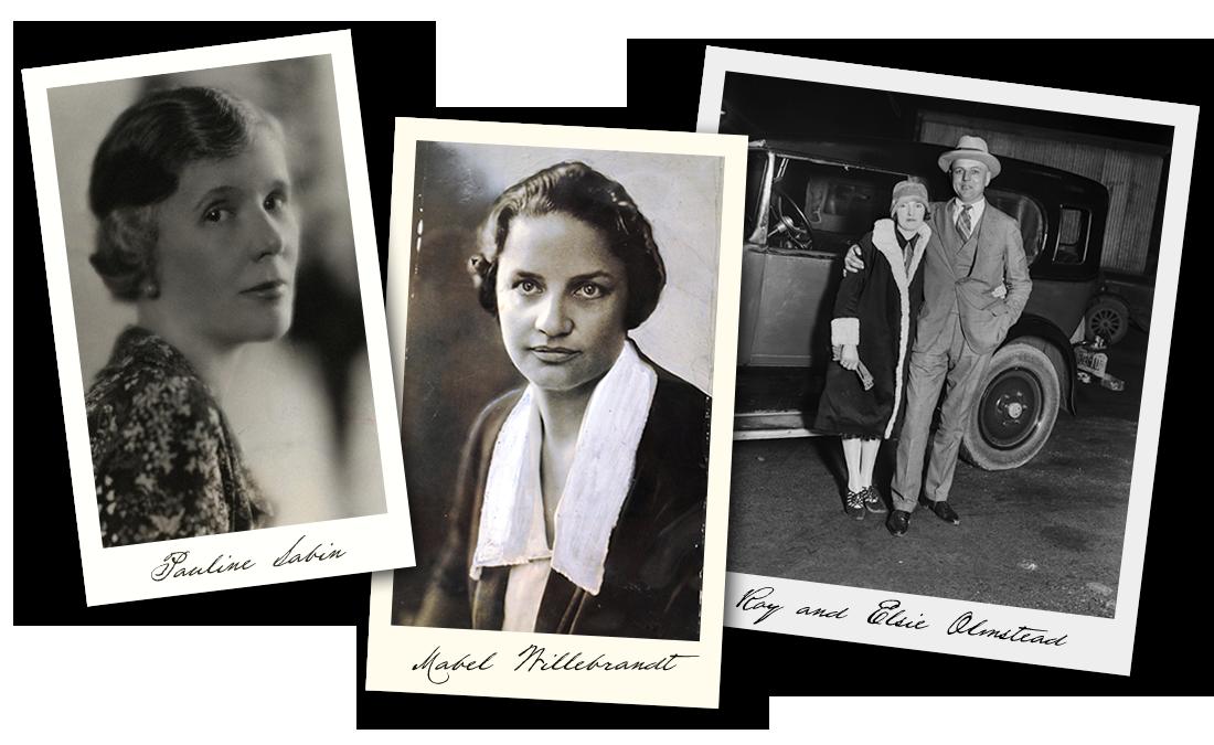 Pauline Sabin, Mabel Willebrandt and  Roy and Elsie Olmstead