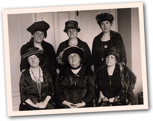 The women's leadership within the Republican Party in 1921